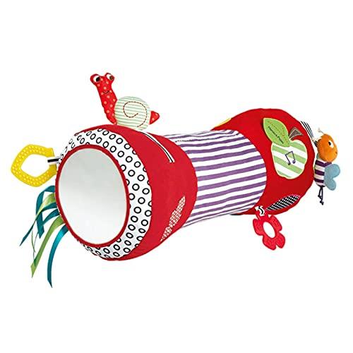 rebirthsame Baby Krabbelkissen Krabbelrolle Baby Cartoon Tier Muster Spielrolle Kissen Baby Fitness Spielzeug...