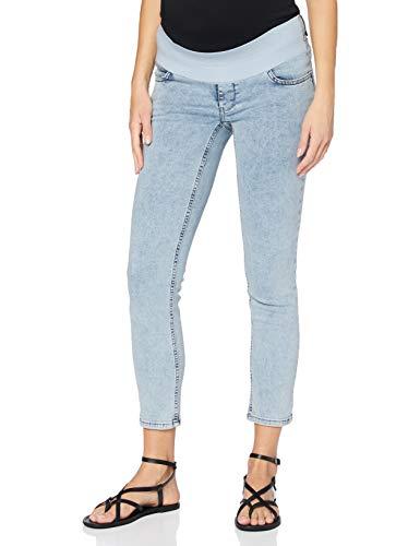 Supermom Damen Jeans UTB Skinny 7/8 Umstandsjeans, Blau (Acid Blue P538), W29 (Herstellergröße: 29)