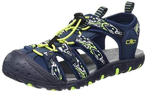 CMP – F.lli Campagnolo Unisex-Kinder Kids Sahiph Hiking Sandal Trekking-& Wandersandalen, Blau (Cosmo N985),...