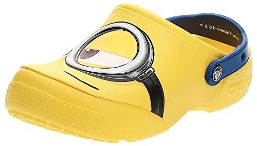 Crocs Fun Lab Minions Clog, Unisex - Kinder Clogs, Gelb (Yellow), 34/35 EU34/35 EU