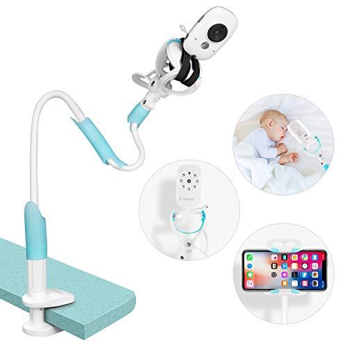 GHB Universal-Kamerahalterung für Babys, Monitorhalterung für Babys, flexibel, um 360 ° drehbar, faltbar,...
