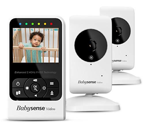 Video-Babyphone Babysense mit Zwei Kameras...
