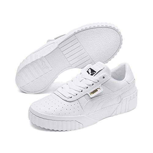 Puma Damen Cali WN's Sneaker, Weiß (Puma White-Puma White), 38 EU