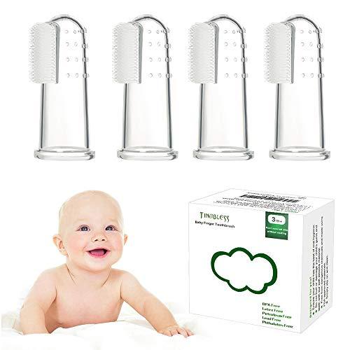 Tinabless: Fingerzahnbürsten für Babys, 6 Stück