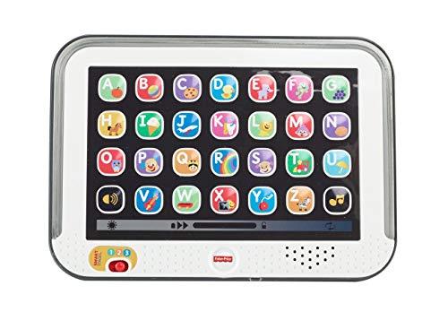 Fisher-Price CDG57 - Lernspaß Tablet Spielzeug, Kindertablet und Lernspielzeug mit mitwachsenden Spielstufen,...