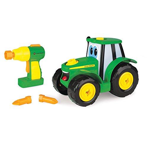 John Deere 46655 Bau-Dir-Deinen-Johnny-Traktor, Kinder Traktor zum Selbstbauen, Hochwertiger Traktor für...