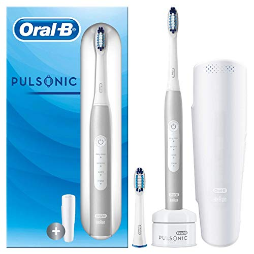Oral-B Pulsonic Slim Luxe 4200 Elektrische Schallzahnbürste für gesünderes Zahnfleisch in 4 Wochen, 3...