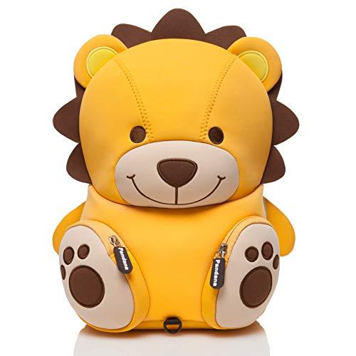 Pandana® Kinderrucksack Lenny Löwe mit Brustgurt für Jungen und Mädchen im Kindergarten oder Kita von 2...
