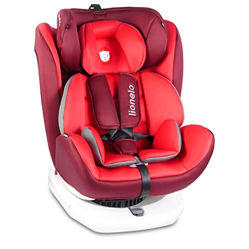 Lionelo Bastiaan Kindersitz Auto Kindersitz Isofix und Top Tether Kindersitz Drehbar um 360 Grad Autositz...