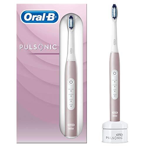 Oral-B Pulsonic Slim Luxe 4000 Elektrische Schallzahnbürste für gesünderes Zahnfleisch in 4 Wochen, 3...