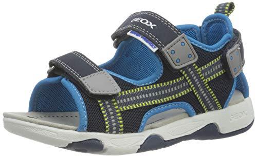 Geox Baby-Jungen B Multy Boy A Sport Sandal, Navy/Azure, 25 EU