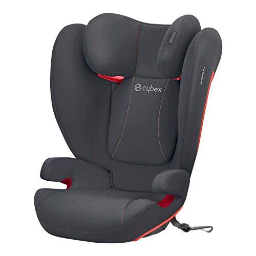 CYBEX Silver Kinder-Autositz Solution B-Fix, Für Autos mit und ohne ISOFIX, Gruppe 2/3 (15-36 kg), Ab ca. 3...