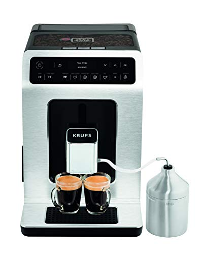Krups EA891D Evidence Kaffeevollautomat | Barista Quattro Force Technologie | 12 Kaffee-Variationen + 3...