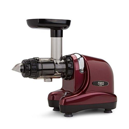 Neo Slow Juicer DA-1000 / Entsafter / Horizontaler Entsafter / Saftpresse - extrem leise - 200 Watt - BPA frei...