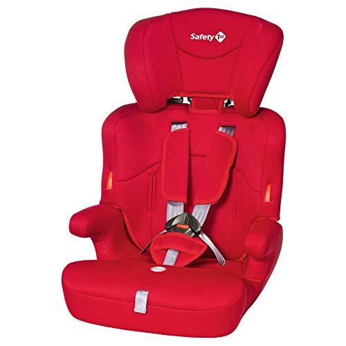 Safety 1st Ever Safe Auto-Kindersitz 9-36 kg, mitwachsender Gruppe 1/2/3 ab ca. 12 M. bis 12 J., full red...