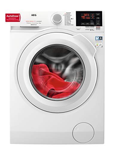 AEG L6FB68480 Waschmaschine / 8 kg / Waschvollautomat mit AutoDose - automatische Waschmitteldosierung / Mit...