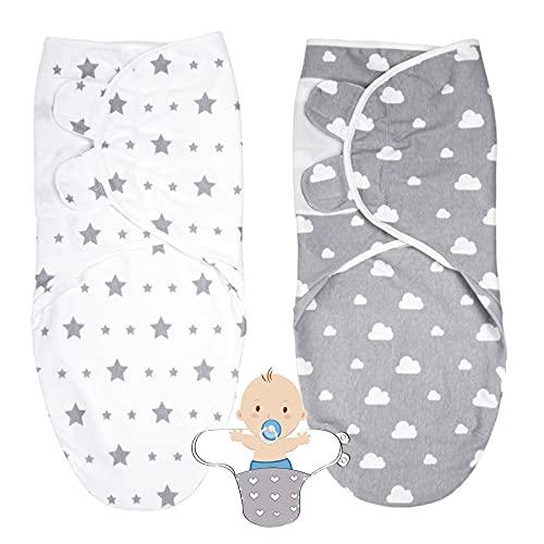 Pucksack Baby,Wickel-Decke Set,Verstellbare Schlafsack,Swaddle Decke,Wickel-Decke,Baby Schlafsack,Baby Decke