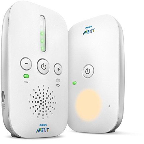 Philips AVENT Audio-Monitore - Babyphone (DECT-Babymonitor, 120 Kanäle, 300 m, 50 m, 300 m, weiß)
