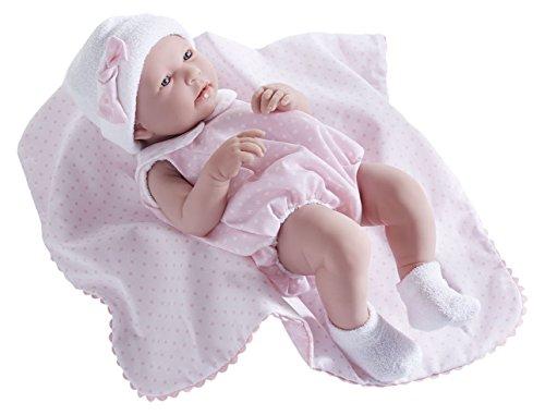JC Toys La Newborn - Realistische 17 'anatomisch korrekte' REAL GIRL 'Babypuppe