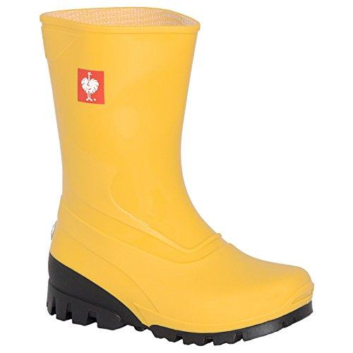 Engelbert Strauss Kinder Stiefel, Farbe:gelb, Größe:28