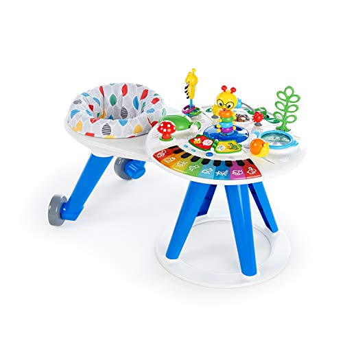 Baby Einstein Around We Grow 4-in-1 Spieltisch und Lauflernhilfe, höhenverstellbar, mit Musik, abnehmbarer...