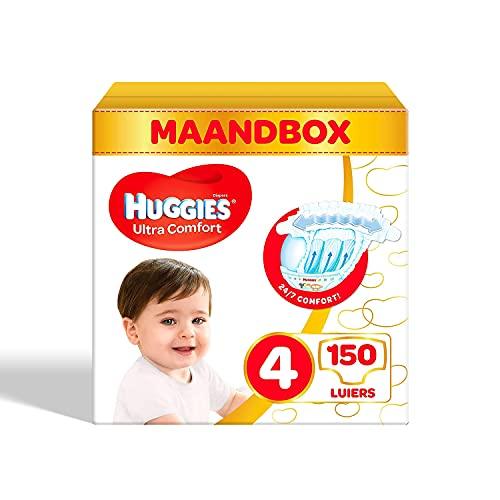 Huggies Ultra Comfort Babywindeln, Größe 4 (7–18 kg), 50 Stück