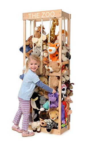 The Zoo - Soft Toy Storage Solution by Little Zookeepers