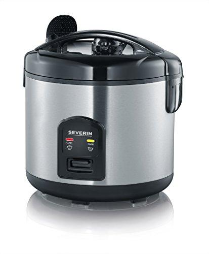 SEVERIN RK 2425 Reiskocher mit Koch- und Warmhaltefunktion (650 W, Inkl. Messbecher und Reislöffel)