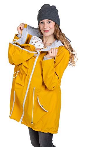 Viva la Mama - 4 in 1 Jacke für Baby Tragen hinten und vorn, Allwetter Jacke Schwangerschaft und Kindtragen,...