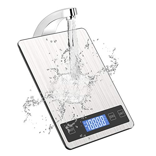 FATE TO FATE Digitale Küchenwaage, 5kg/11lb Digital Küchenwaagen Digitalwaage Elektronische Waage Küche...