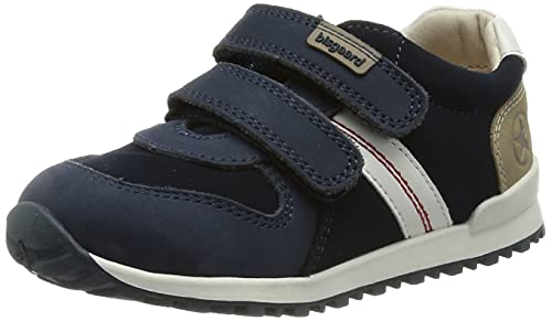 Bisgaard Jungen Unisex Kinder Stevie Sneaker, Navy, 27 EU