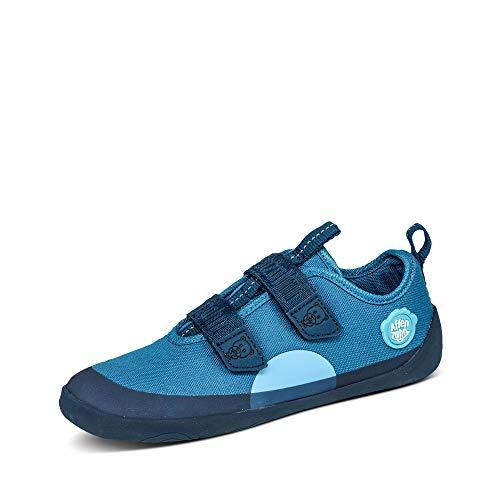 Affenzahn Barfußschuh, Schuh für Jungen und Mädchen - Bär, Blau,29 EU