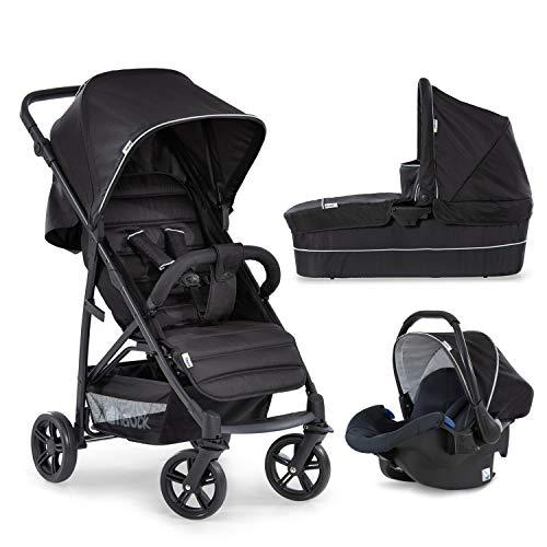 Hauck Rapid 4 Plus Trio Set 3 in 1 Kinderwagen Set bis 25 kg, isofix-fähige Babyschale, Babywanne mit...