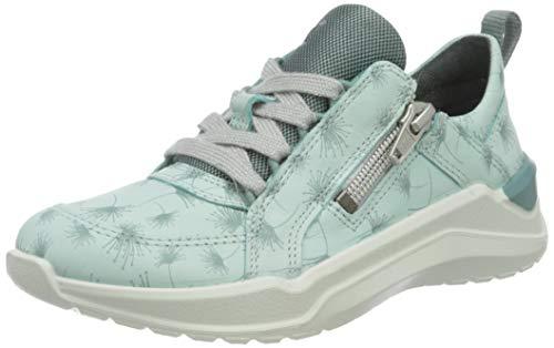 Ecco Mädchen Intervene Sneaker, Türkis (Eggshell Blue/Trellis 51782), 29 EU