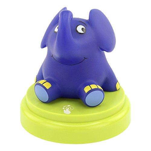 ANSMANN LED Kinder Nachtlicht Elefant - Süße Baby & Kind Einschlafhilfe mit Touch Sensor - Kinderlampe ideal...
