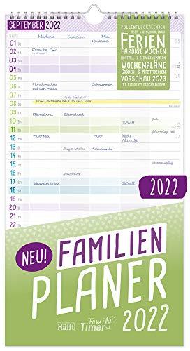 Familien Planer 2022