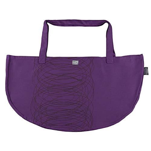 Hoppediz Wiegetuch für Hänge-Babywaage Design New York viola, violett, wt-j-new-moc-vio