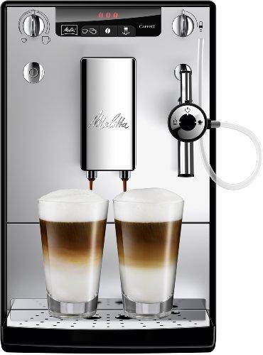 Melitta Caffeo Solo & Perfect Milk E957-103 Schlanker Kaffeevollautomat mit Auto-Cappuccinatore | Automatische...
