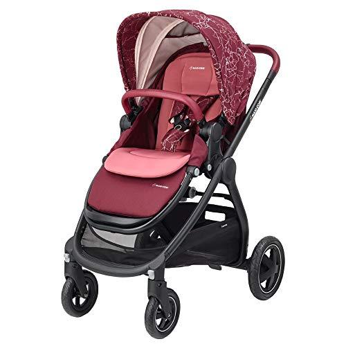 Maxi-Cosi Adorra komfortabler Kombi Kinderwagen für Ihr Kind (ab Geburt bis ca. 3,5 Jahre), Marble Plum,...