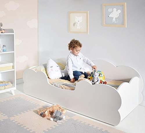 Badba Kinderbett Montessori Wolke, 154 x 74 x 42 cm