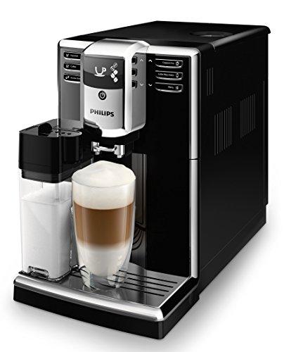 Philips 5000 Serie EP5360/10 Kaffeevollautomat, 6 Kaffeespezialitäten (integriertes Milchsystem)...