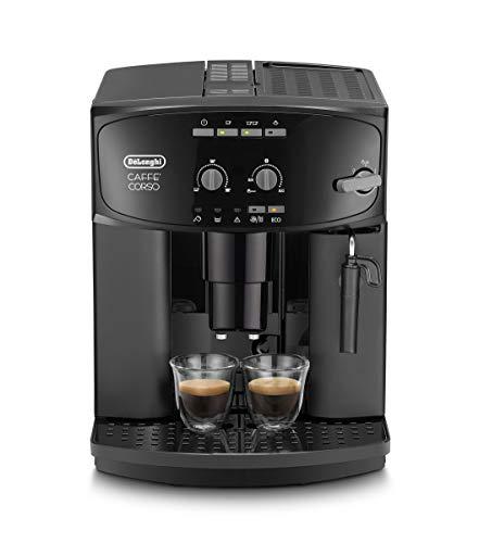 De'Longhi Caffé Corso ESAM 2600 Kaffeevollautomat mit Milchaufschäumdüse für Cappuccino, mit Espresso...