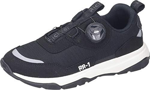Richter Kinderschuhe RR-1 7516-8172 Laufschuh, 9900black/reflective, 40 EU