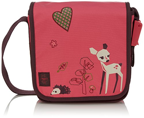 LÄSSIG Mini Messenger Bag Kindergartentasche, Little Tree Fawn