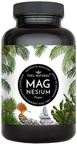 Magnesium Kapseln - 365 Stück (1 Jahr). 664mg je Kapsel, davon 400mg ELEMENTARES (reines) Magnesium -...