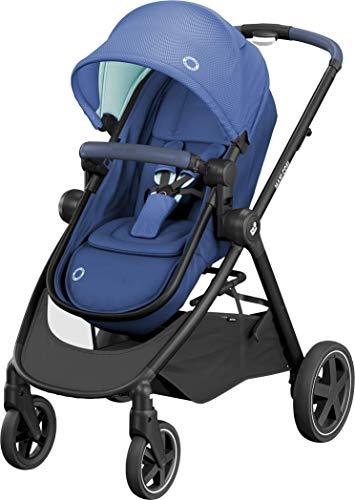 Maxi-Cosi Zelia 2 in 1 Kinderwagen, Hängematte verwandelt sich in eine Babywanne, Liegeposition, einfaches...