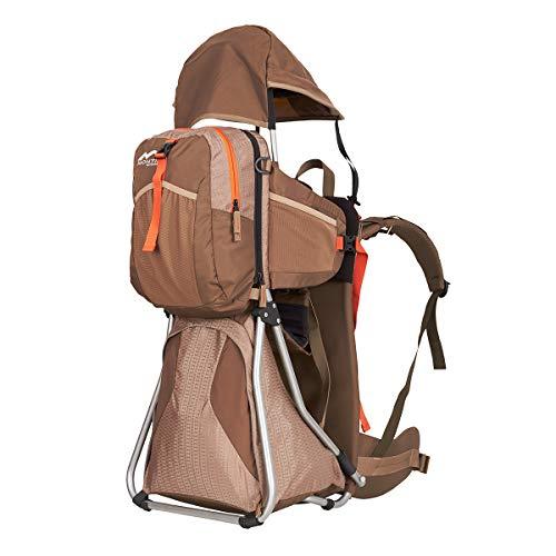 MONTIS Hike Kraxe Wandertrage bis 25kg Gewicht mit vielen Extras & Erweiterungsmöglichkeiten - inkl....