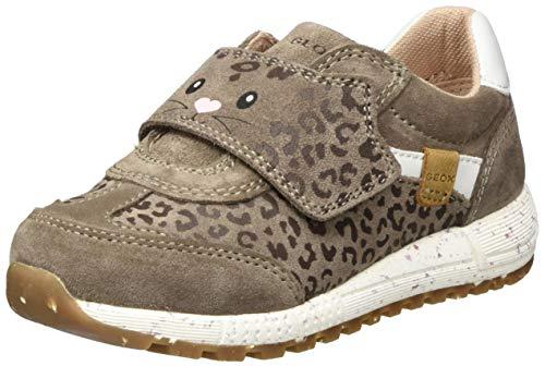 Geox Baby-Mädchen B ALBEN Girl B Sneaker, Grau (Smoke Grey), 20 EU