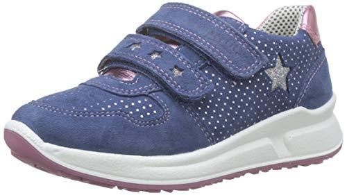 Superfit Mädchen Merida Niedrig Sneaker, Blau (Water Kombi 88), 29 EU