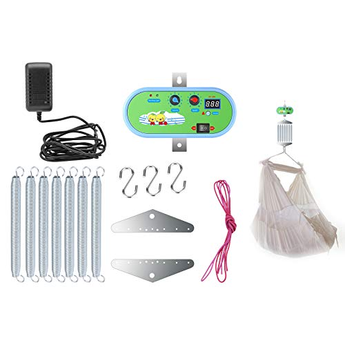 Vogvigo Babyschaukel Babywippe Controller, Geräuschlos mit Einstellbarem Timer Elektrische Babyschaukel...